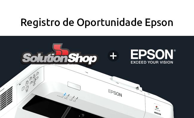 Solicite o Registro de Oportunidade Epson