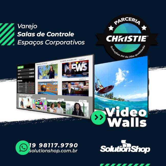 Video Walls Christie - Parceira Oficial