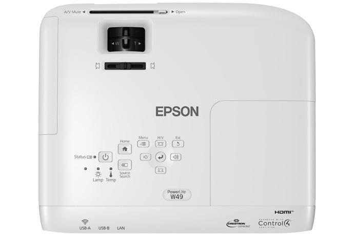 Projetor Epson PowerLite W49