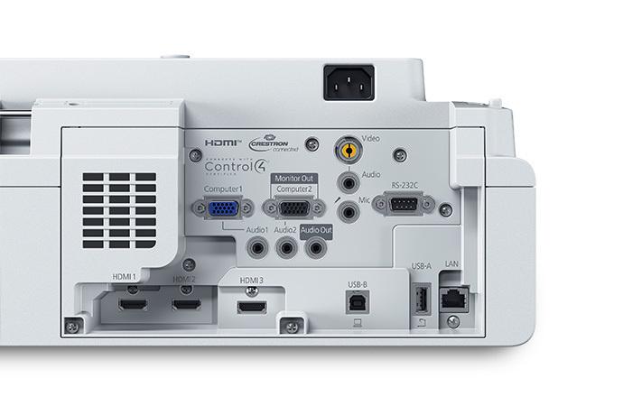 Projetor Laser Epson PowerLite 750F
