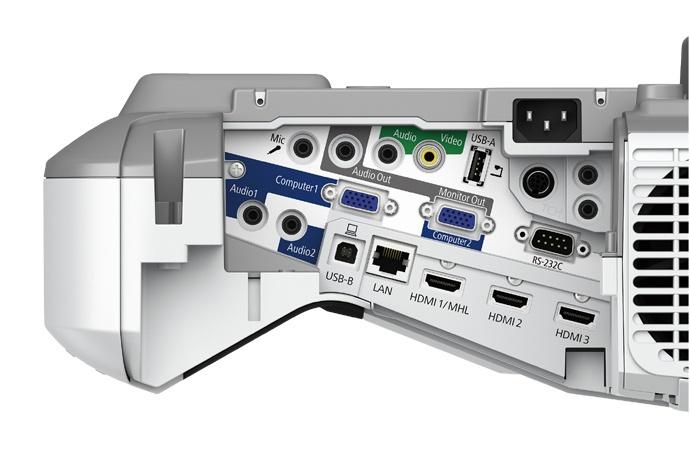 Projetor Epson Interativo BrightLink 695Wi+