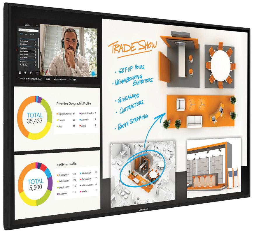 Monitor Standalone Christie Access Series UHD551-L